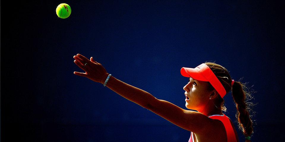 Калинская завершила выступление на турнире в Гштааде