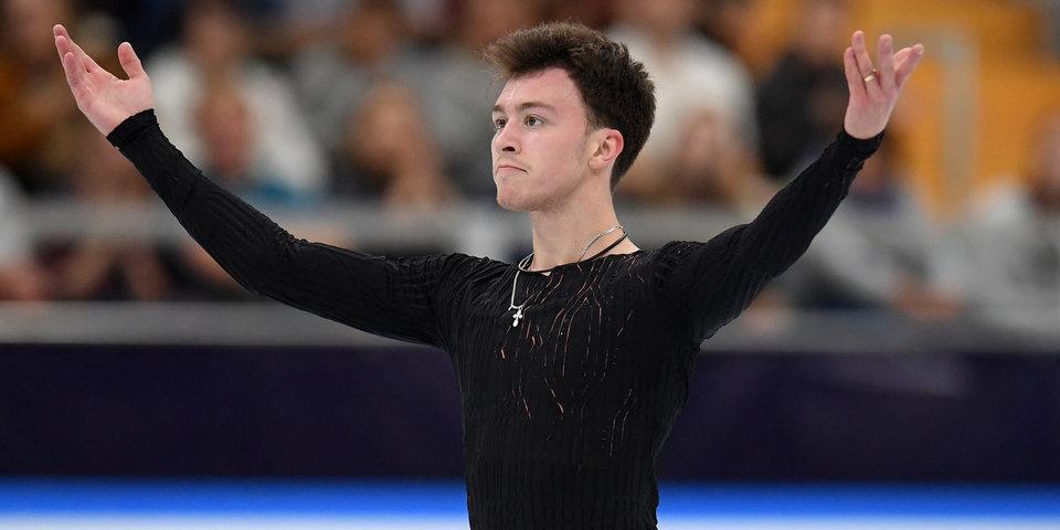 Дмитрий Алиев — о выступлении на Skate America: «Почувствовал небольшое разочарование»