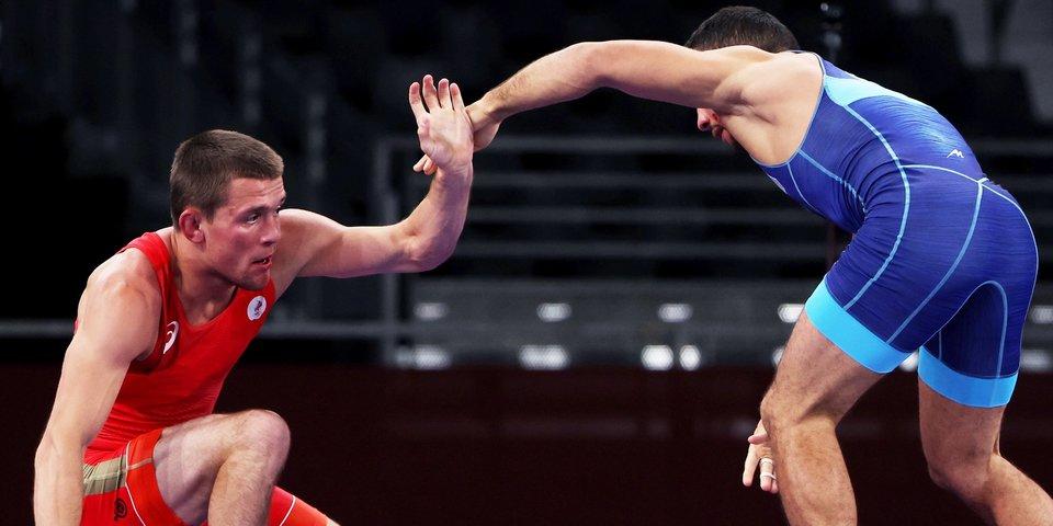 Сурков проиграл украинскому борцу Насибову и не вышел в полуфинал на ОИ