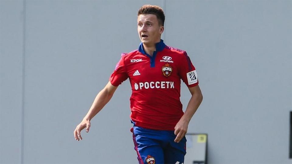 ЦСКА продлил контракт с Головиным до 2021 года