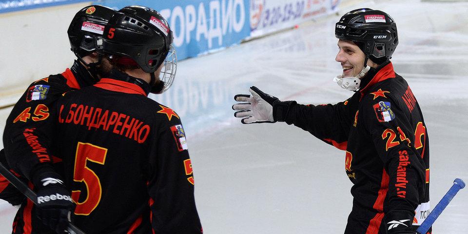 «СКА-Нефтяник» обыграл «Енисей» в первом полуфинальном матче ЧР