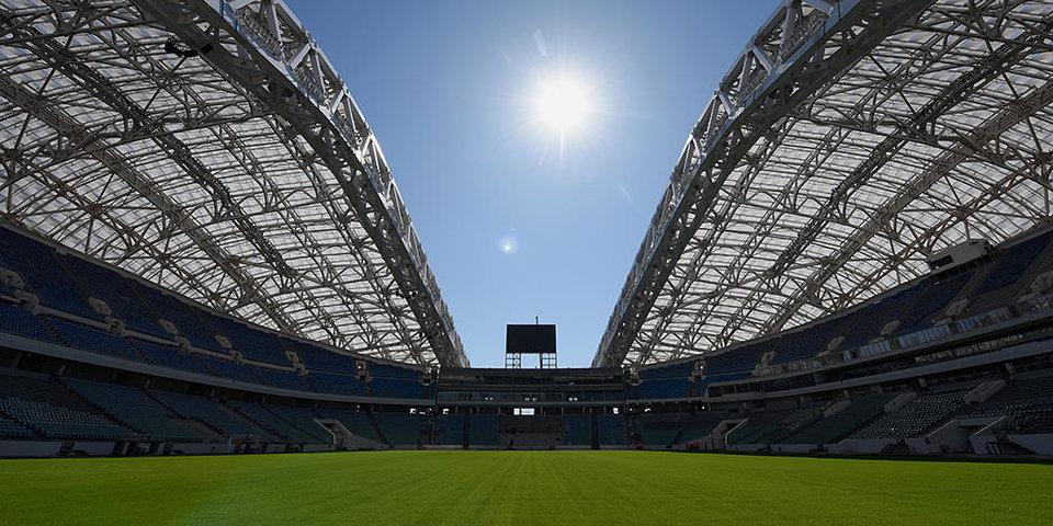Стадион, на котором сборная России сыграет с Бельгией