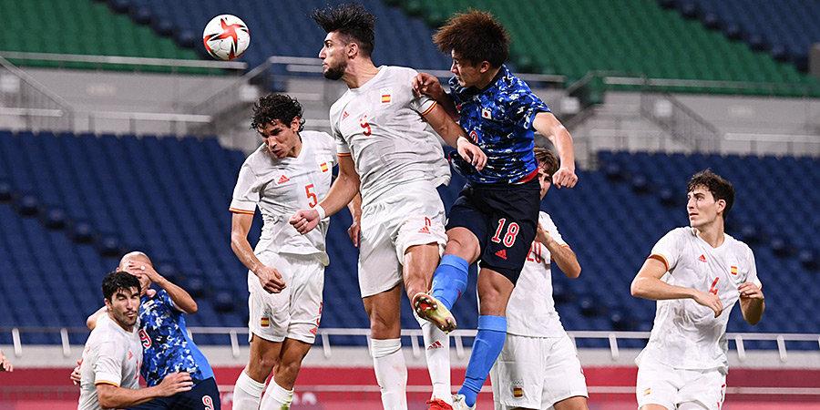 Испанские футболисты обыграли Японию и сыграют с Бразилией за золото ОИ