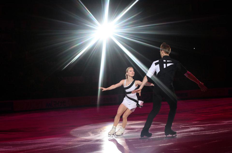 Тарасова и Морозов лидируют после короткой программы на чемпионате мира
