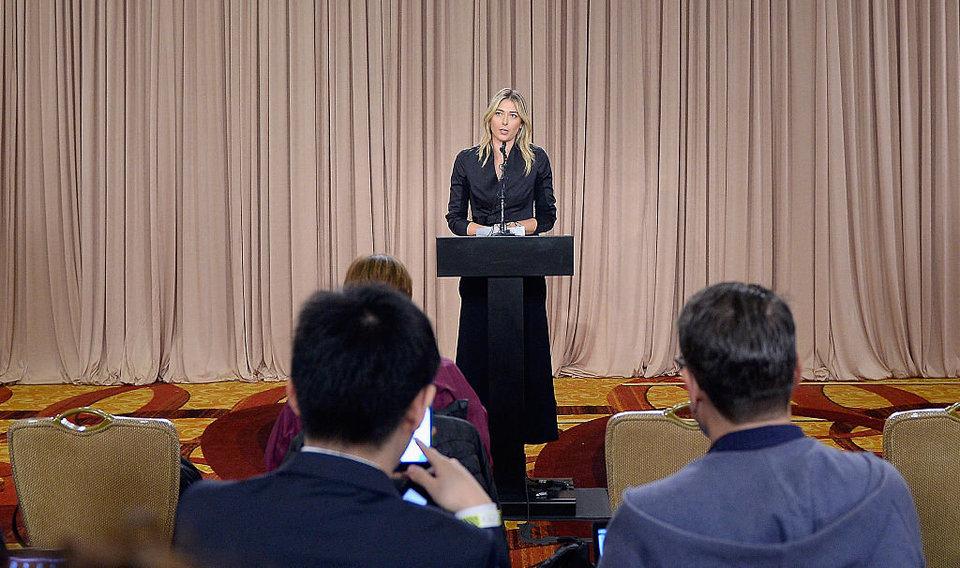 Шарапова выступит перед молодыми теннисистами в США на тему антидопинга