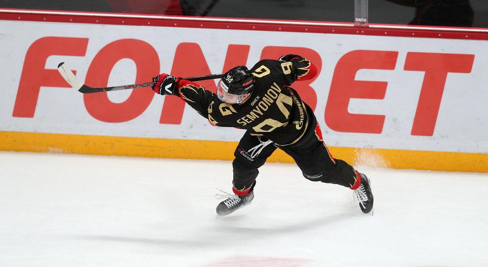Кирилл Семенов: «Авангард» сделал мне очень хорошее предложение, но я мечтаю играть в НХЛ»