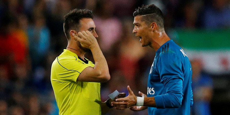 «Реал» оспорит пятиматчевую дисквалификацию Роналду в CAS