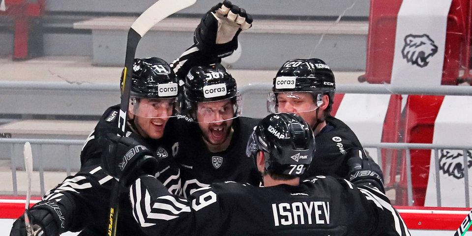 «Трактор» прервал четырехматчевую победную серию «Барыса» в КХЛ