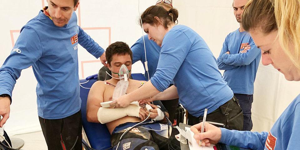 Карякину не потребовалась операция на сломанной руке
