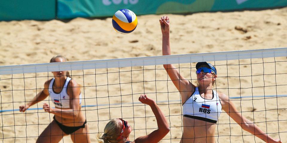 Россиянки уступили на старте ЧМ по пляжному волейболу