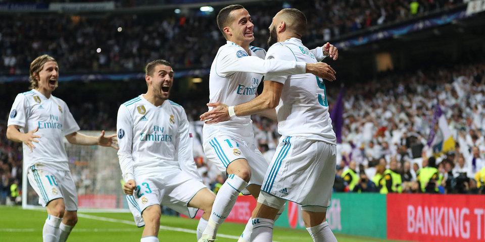 «Реал» в финале Лиги чемпионов