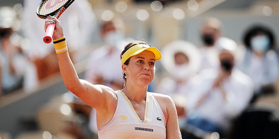 Анастасия Павлюченкова: «Терпеть не могу играть первые матчи. Я не люблю просыпаться так рано»