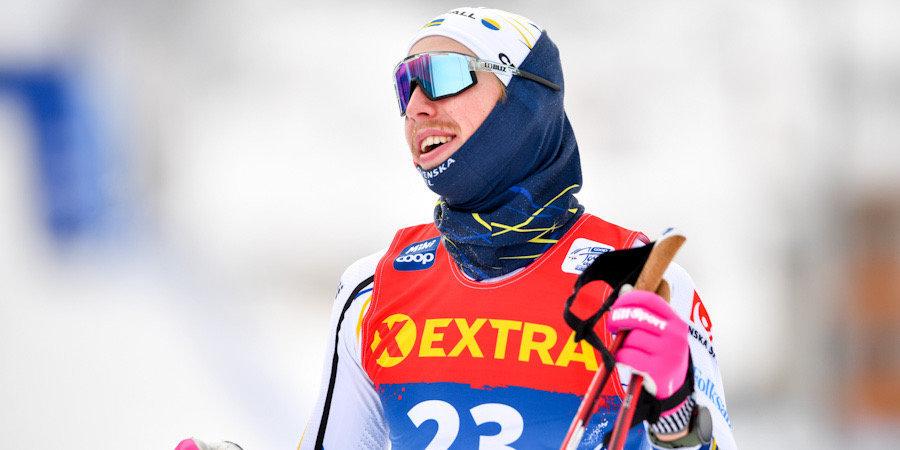 Шведский лыжник, назвавший россиян тупыми, хочет тренироваться с Большуновым в России