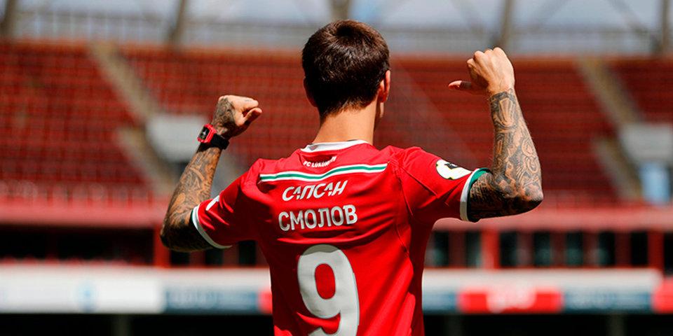 Смолов — в основе «Локомотива» на матч с «Оренбургом», Хеведес — в запасе