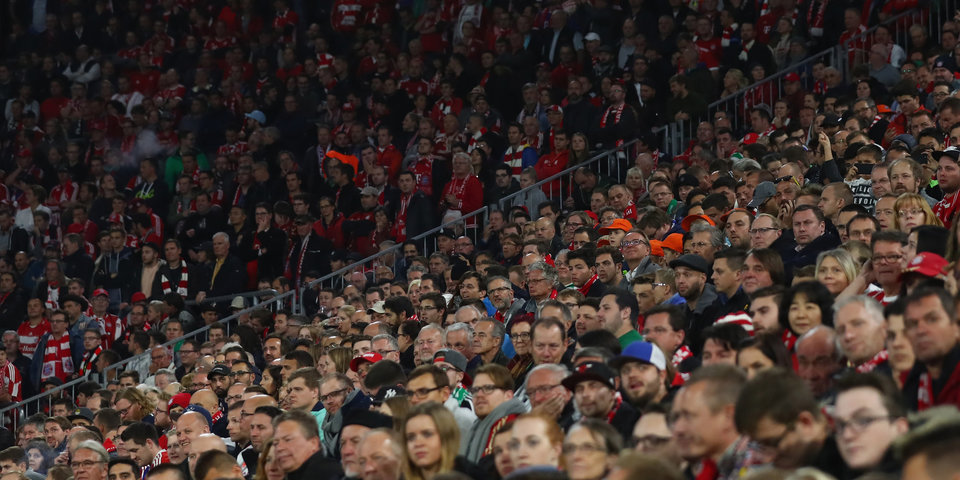 Сколько болельщиков ходит на Кубок в России и Германии?