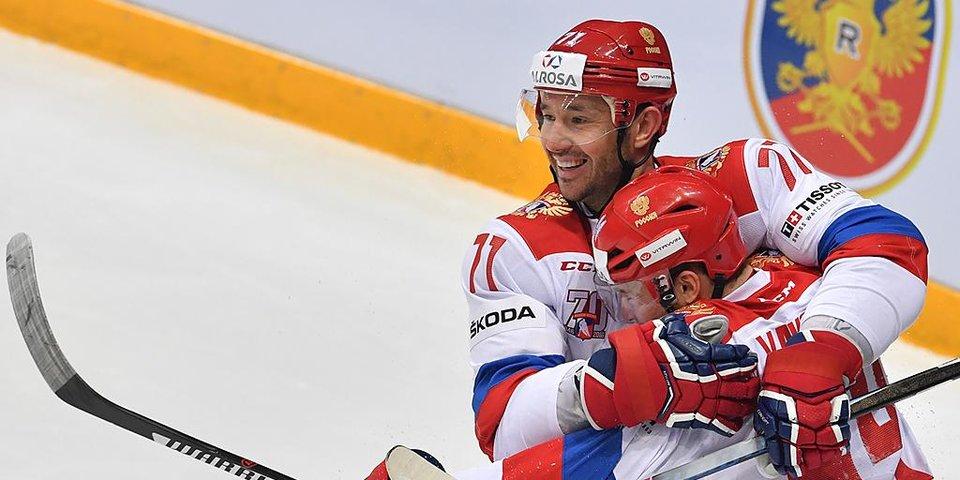 Россия пропускает на 47-й секунде, но побеждает Финляндию