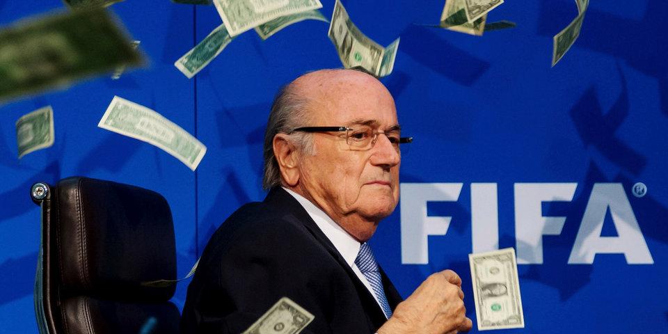 ФИФА пожаловалась на Блаттера в швейцарскую прокуратуру