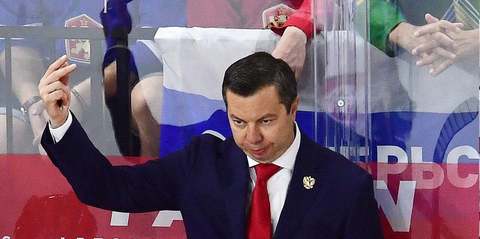 Воробьев объявил имя капитана сборной России на Кубке Карьяла