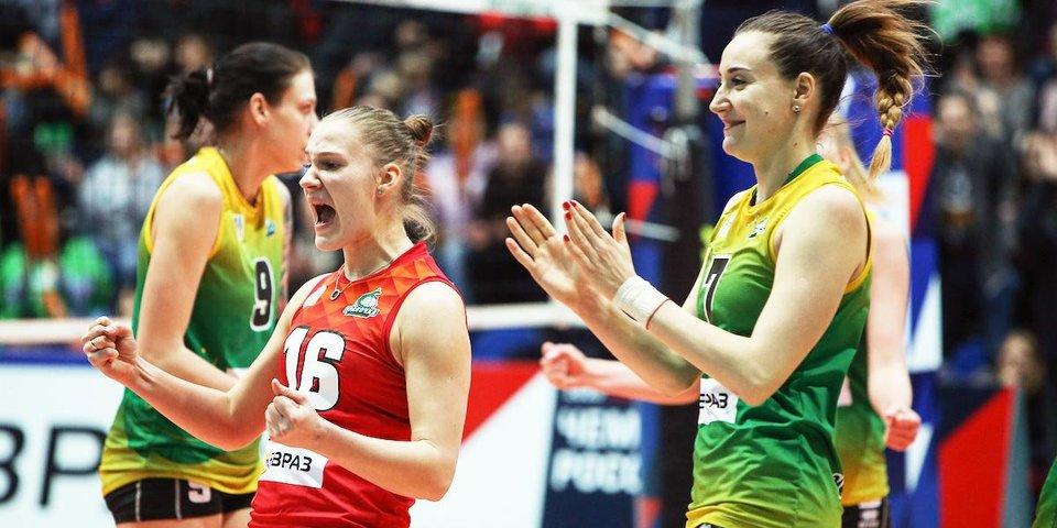 «Уралочка-НТМК» добилась волевой победы над «Ленинградкой» в Суперлиге