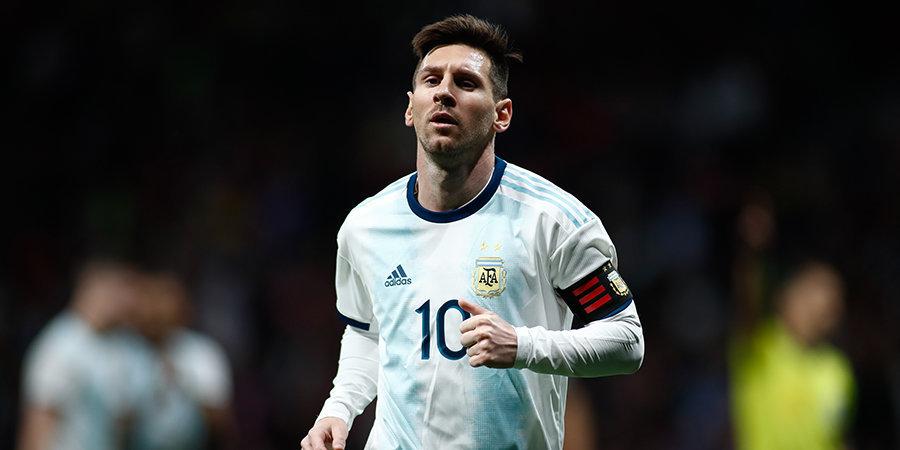 Сборная Аргентины ушла от поражения в матче с Парагваем после гола Месси с пенальти, назначенного при помощи VAR