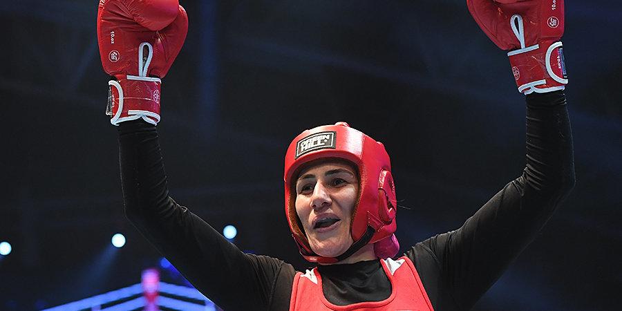 Магомедалиева вышла в четвертьфинал ОИ в весовой категории до 75 кг