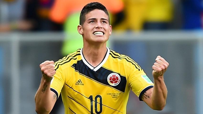 Родригес выйдет в основе сборной Колумбии на матч с Польшей