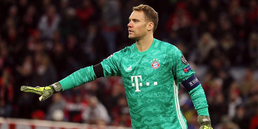 Мануэль Нойер: «Главная цель и мечта — сыграть в 2022 году в финале Лиги чемпионов в Мюнхене»