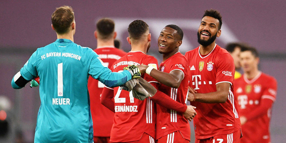 «Бавария» признана командой года по версии Laureus