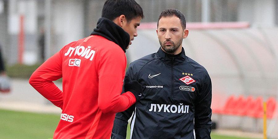 «У нас было пять игроков в атаке. Мы пробовали все, чтобы забить». Тедеско — о первом матче в «Спартаке»