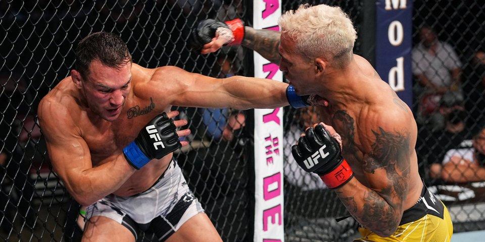 Оливейра нокаутировал Чендлера и стал новым чемпионом UFC в легком весе