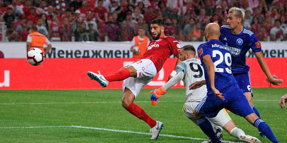 Жиго приносит «Спартаку» первую победу в сезоне. Гол и лучшие моменты