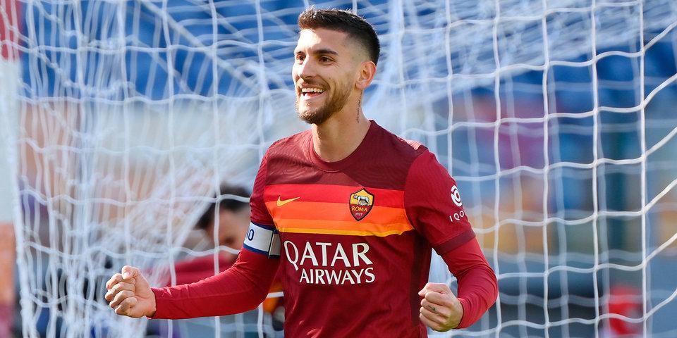 «Рома» забила пять безответных мячей «Кротоне» в Серии А
