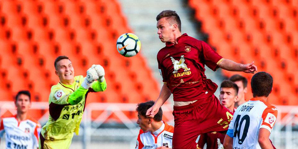«Рубин» уверенно справился с «Уралом» в матче молодежных команд