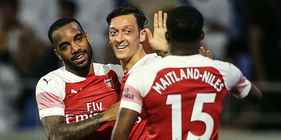 Озил и Обамейанг — в стартовом составе «Арсенала» на матч с «Валенсией»