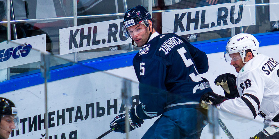 Захарчук получил 15-матчевую дисквалификацию за грубую игру