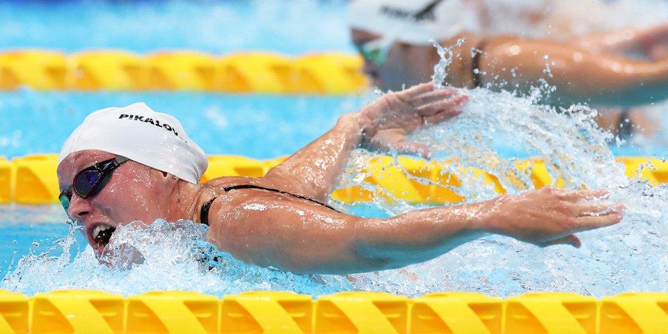 Пикалова выиграла бронзу Паралимпиады на дистанции 100 м баттерфляем в классах S12-13