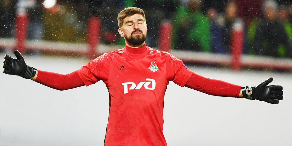 Сейв Коченкова вошел в число лучших спасений 6-го тура ЛЧ