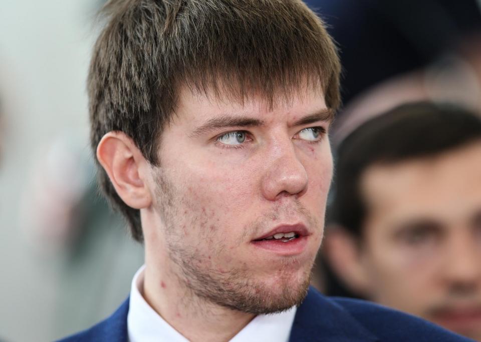 Сборная России заявила Береглазова