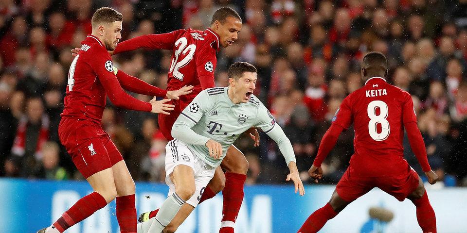 «Бавария» провела первый «сухой» матч с декабря и удержала ничью c «Ливерпулем»