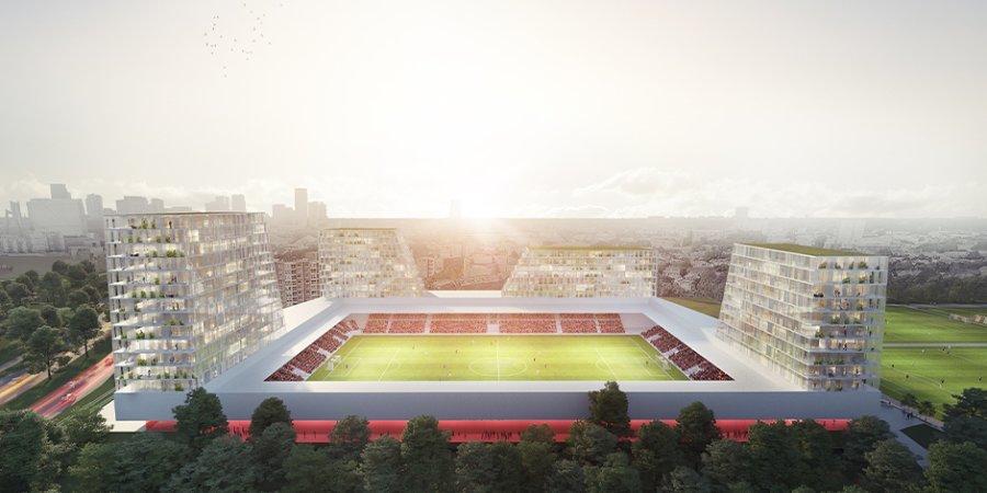 Клуб в Роттердаме построит 4 жилых башни на стадионе. Новый стандарт футбольной архитектуры и бизнеса