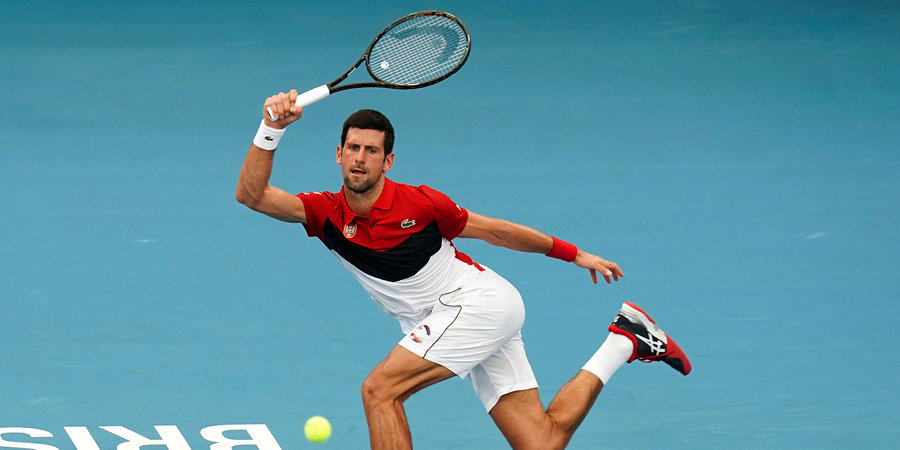 Джокович стал первым за 20 лет теннисистом, дисквалифицированным на ТБШ