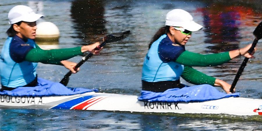 Ковнир и Долгова стали чемпионками мира на дистанции 200 метров