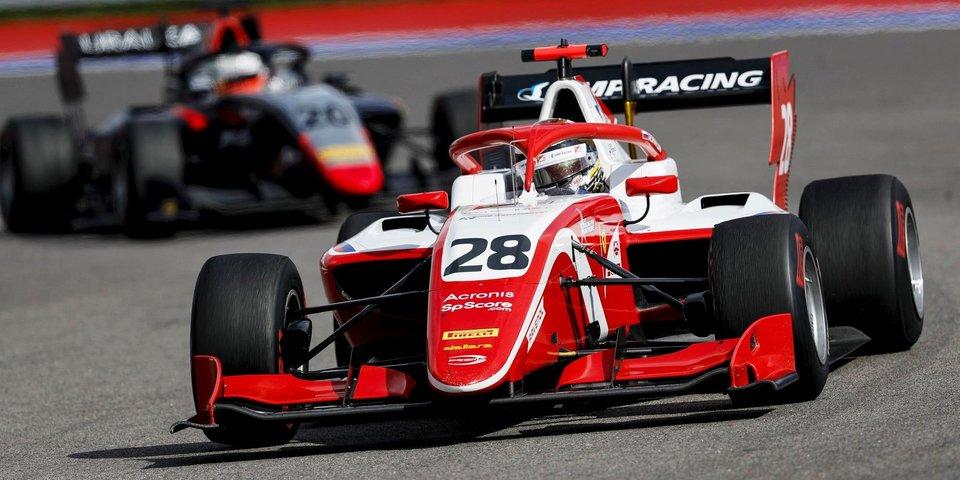 Лундгард выиграл вторую гонку «Формулы-2» в Тоскане, Шварцман – 9-й