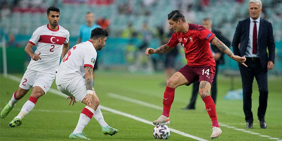 Италия хороша даже вторым составом, у бывшего игрока ЦСКА ассистентский хет-трик, Швейцария в режиме ожидания. Итоги дня на Евро