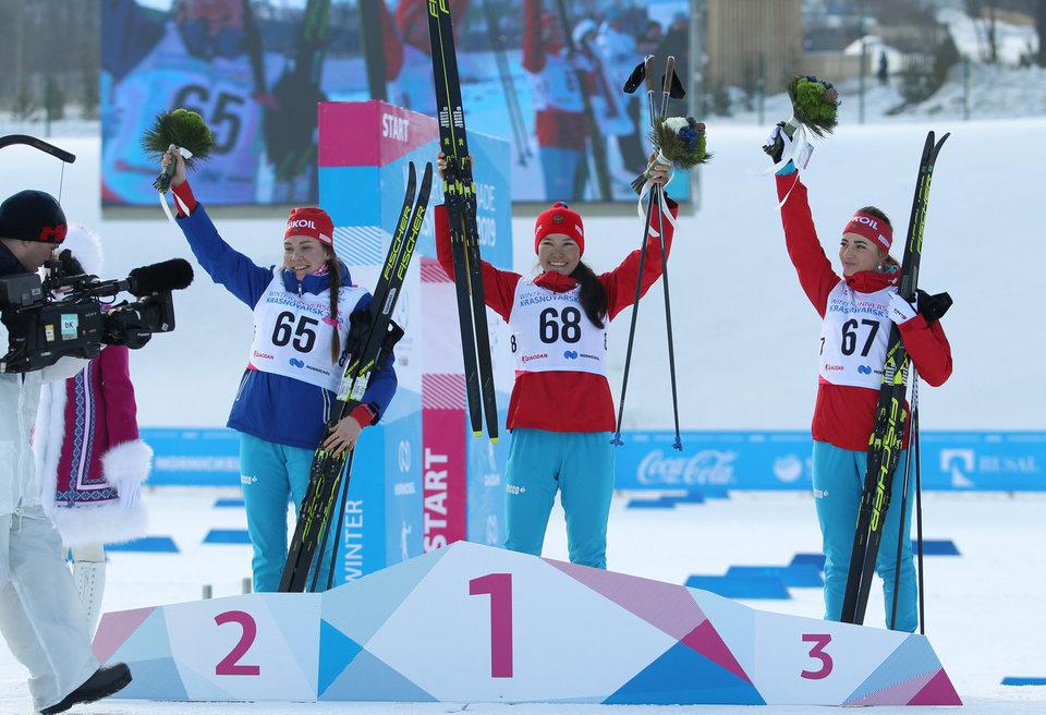 Сборная России лидирует в медальном зачете после первого соревновательного дня Универсиады