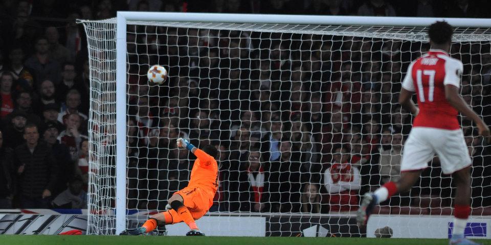 После этого момента вратарь лондонского «Арсенала» может стать вратарем тульского