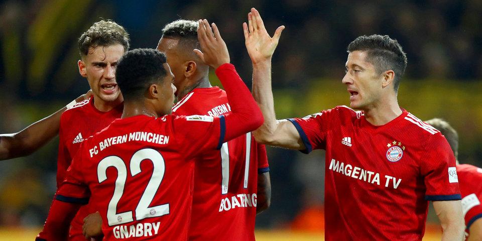 «Бавария» переиграла «Герту», «Вольфсбург» разгромил менхенгладбахскую «Боруссию»