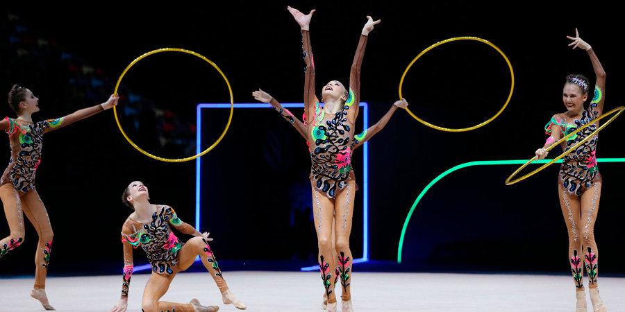Юниорская сборная России победила в многоборье на ЧЕ в Баку