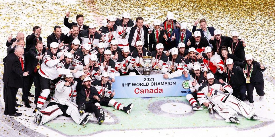 Эта сказка будет вечной! Канадцы еле-еле выползли из группы — и стали чемпионами мира