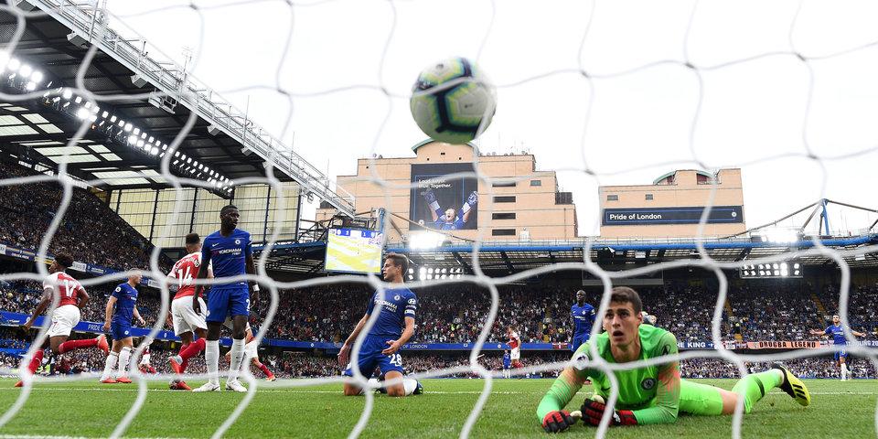 «Челси» обыграл «Арсенал». Лучшие моменты